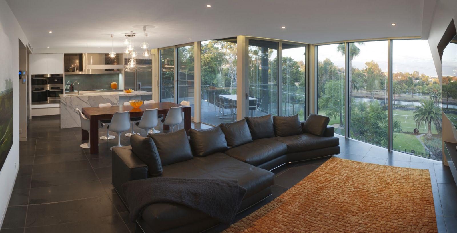 Interieur maison riche - Maison rustique luxe montecito grant ...
