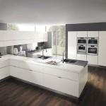 03 Cuisine blanc laque modern