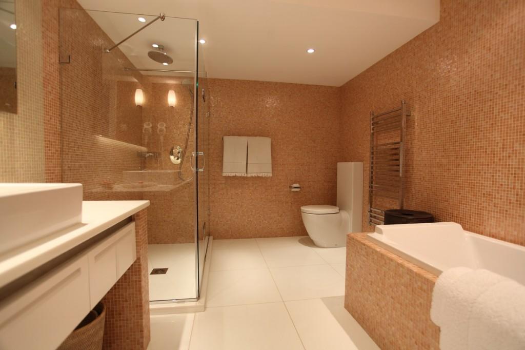 Salle De Bain Baroque Rose : Décoration salle de bain rose déco sphair