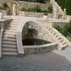 10 Escalier et fontaine en marbre